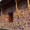 Glasmosaik, Wat Xieng Thong