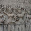 Apsara-Darstellungen, Angkor Wat