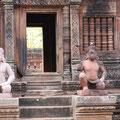 Skulpturen Banteay Srei