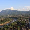 Blick vom Mount Phousi, Luang Prabang
