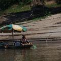 Am Ufer des Mekong
