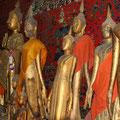 Buddha-Statuen, Vat Xienthong, Luang Prabang