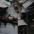 Schwimmende Märkte von Damnoen Saduak