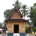 Kappelle auf den Geläne von  Vat Xienthong, Luang Prabang