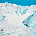 Living landscape 2014 キャンバス、アクリル 100.0×100.0㎝
