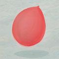 untitled 2014 キャンバス、アクリル 45.5×38.0㎝