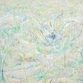 庭について#5 2013 キャンバス、アクリル 89.4×130.3㎝