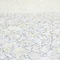ground 2013 キャンバス、アクリル、ペン 14.0×18.0㎝