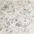 神さがし 2012 キャンバス、ジェッソ、アクリル、ペン 65.2×91.0㎝