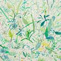 untitled 2014 キャンバス、アクリル 45.5×45.5㎝