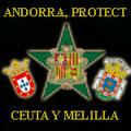 Andorra, Protectorado Español, Ceuta y Melilla.