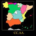 Comunidades Autónomas.
