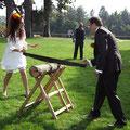 German and Uzbekistani wedding, Geneva (Switzerland), September 2009