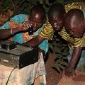 Burkinabé and Belgian wedding, Ouagadougou (Burkina Faso), January, 2010