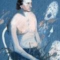 """""""Lucio"""",olio su tela,70 cm x 100 cm"""