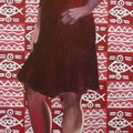 """Autoritratto"",olio su tela,70 cm x 180 cm"