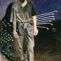 """""""Guido"""",olio su tela,80 cm x 120 cm"""
