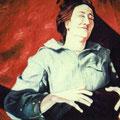 """Olga"",olio su tela,90 cm x 60 cm"