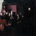 """LANIFICIO 25"",anno 2009,olio su tela,130 cm x 80 cm"