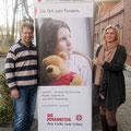 Tobias Rilling und Stefanie Rose vom Fundraising.