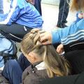 Frisuren machen..