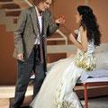 Sylvia Rena Ziegler als Cherubino in Le nozze di Figaro, Theater Magdeburg 2013