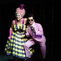 Marcel Brunner als Leander in Die Liebe zu drei Orangen, mit Julia Faylenbogen (Foto: Nationaltheater Mannheim)