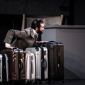 Daniel Arnaldos als Cavaliere Belfiore in Il viaggio a Reims, UNI.T - Theater der UdK Berlin 2017 (Foto: Daniel Nartschick)