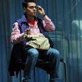 Michale Hofmeister als Edgar in Lear, Staatstheater Kassel (Foto: Nils Klinger)