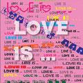 演劇ユニットD3 act.03 「LOVE IS…」フライヤー