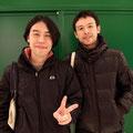 2年ぶりに寺澤くんと再会☆フットボリスタというサッカー雑誌の編集とデザインをしてます!