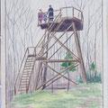 Zeichnung von 1922