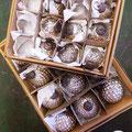 zauberhafte Glaskugeln aus Dänemark...