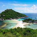 Koh Nang yuan Island,Surat,Thailand (c)Shutterstock/Ikuni