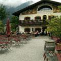 In Garmisch zum Mittag