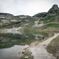 Der Augstsee. Ganz einsam im Toten Gebirge. Schön ist's!