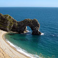 Durdle Door, Jurassic Coast. Mittelmeer-Feeling!