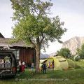 Camping mit Aussicht (Altaussee).