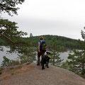Der nächste Nationalpark. Diesmal Tiveden - zwischen Vänern und Vättern.