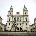Der Dom zu Salzburg.