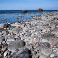 Endlose Steinstrände machen der Rennschnecke das Leben, äh, Laufen schwer.