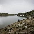 Der Augstsee. Nicht sichtbar: Die Millionen Kröten im Teich!
