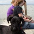 Gruppenbild mit Hund