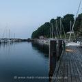 Romantic Rügen, die Zweite: Hafen Lohme am Abend.
