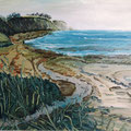 Gagat-Strand 5,1995,50x60,Jens Walko