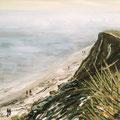 Winter am Meer, Dänisch Nienhof,1995,40x50,Jens Walko