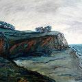 Surendorf Steilküste 2, 1996,50x60, Jens Walko