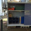 電源設備収納庫