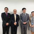 Prof.Dr.Mamoru TSUKADA and Assoc.Prof.Ken'ichiro HIGUCHI   Oct 30, 2015