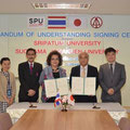 Memorandum of Agreement between Sugiyama Jogakuen University and Sripatum University